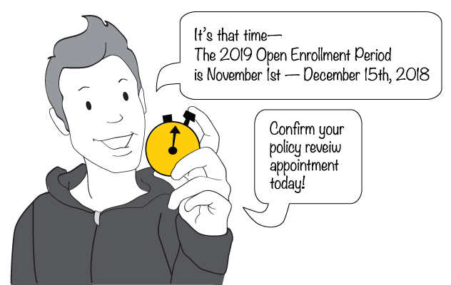 Insurance Broker Matt Peebles of the Enrollment Specialists Reminds Clients About Open Enrollment for 2019