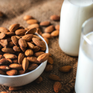 Nut milks and other dairy alternatives